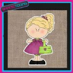 FASHION GIRLIE DESIGN JUTE  SHOPPING LADIES GIFT BAG 08